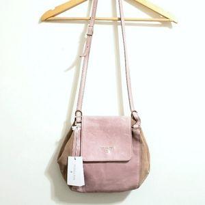 Patrizia Pepe Borsa Fly Cloud Rose Leather Bag